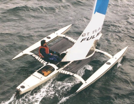 Report on Nine Small Folding Trimarans