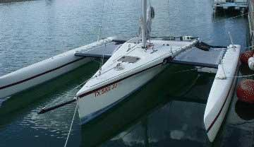 List of Synonyms and Antonyms of the Word: Folding Trimaran