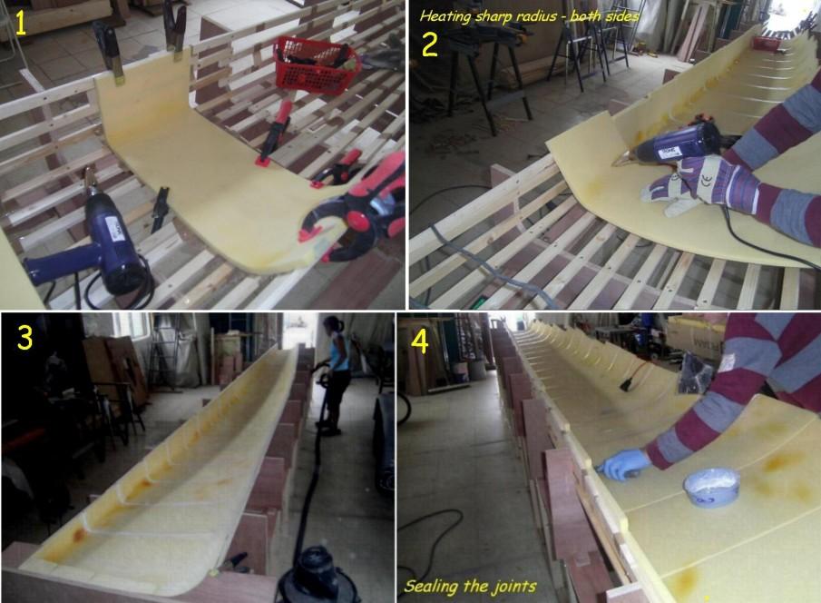 Plug Building Divinicell Strips or Vertical pannels - Boat Design Forums